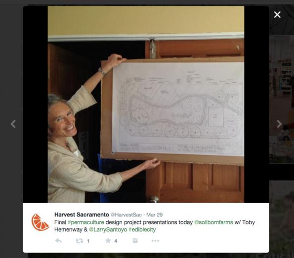Permaculture Design Tweet #lepermdesign